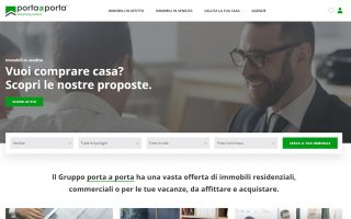 Online il restyling del sito Gruppo Porta a Porta